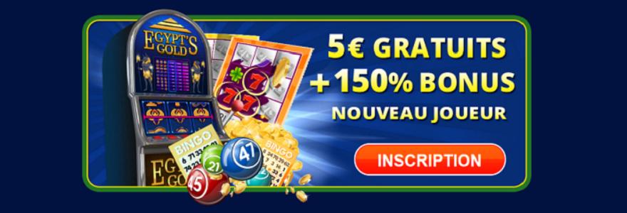 Jouez Avec 5 Euros Offerts Et Gagnez Le Jackpot